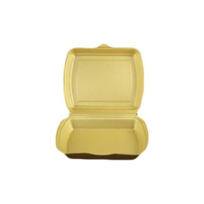 Coquille isotherme gold 247x198x75mm - 1 compartiment
